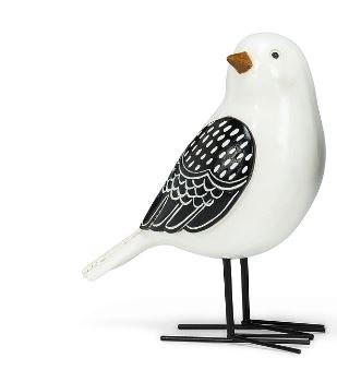 Folk Stylle Bird White