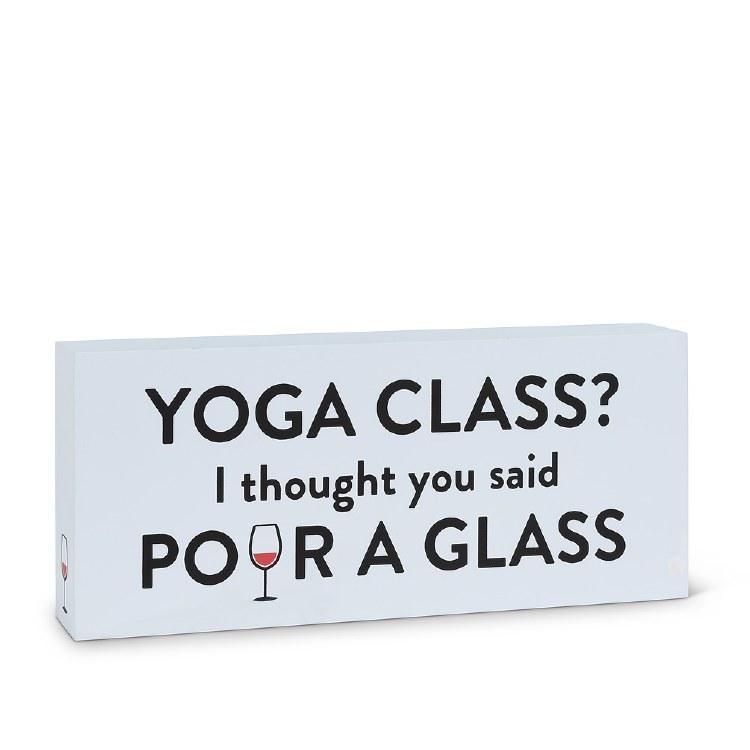 Yoga Class Block
