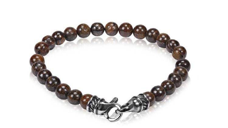 Steel Bead Bracelet