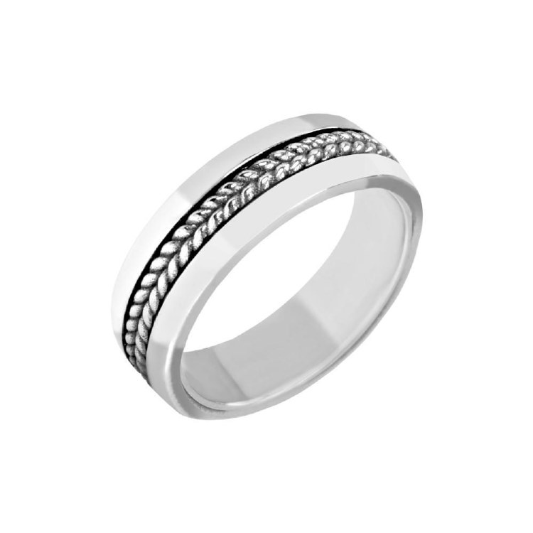Stainless Steel Ring sz 9