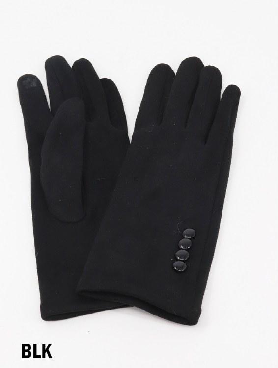 Touch Screen Glove Black