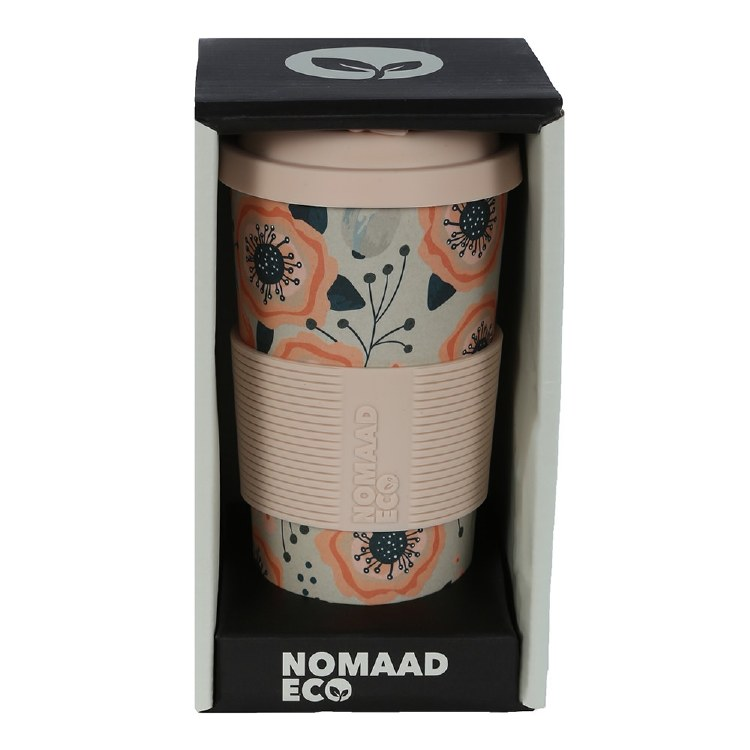 Bamboo Weat Fibre Poppy Cup