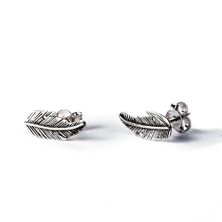 Feather Stud earrings