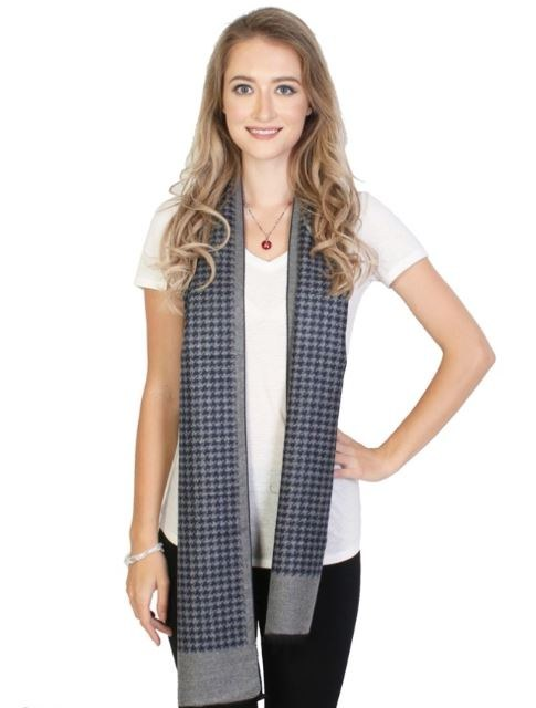 Houndstooth Reversible Scarf