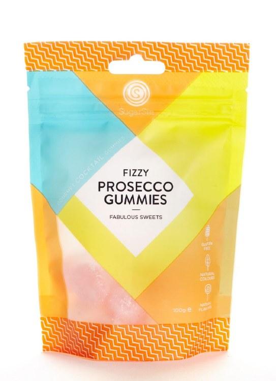 Fizzy Prosecco Gummies