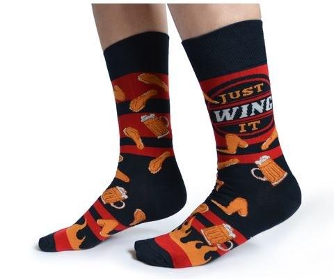 Wing it Crew Socks