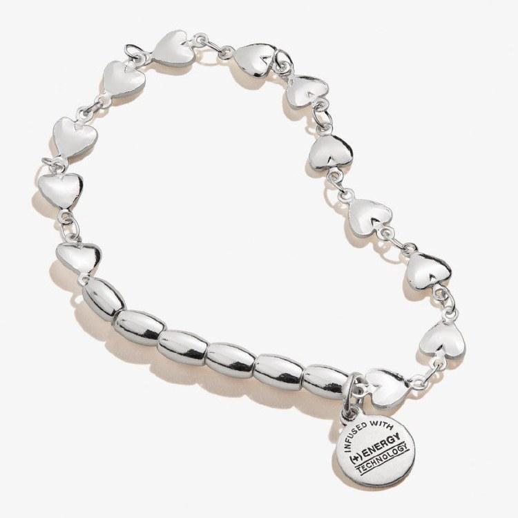 Heart Stretch Bracelet, SS