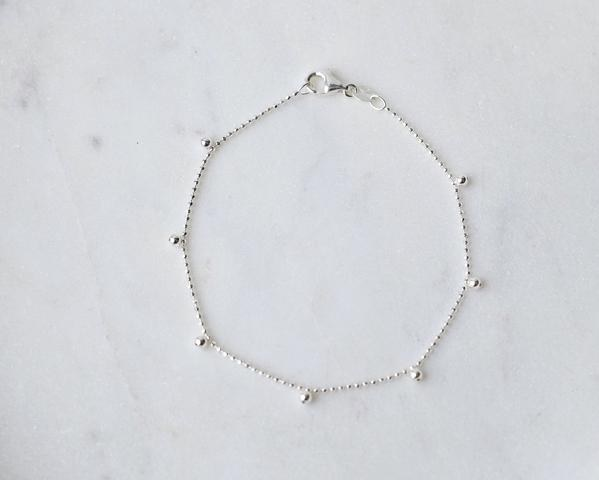 Drop Dots Chain Bracelet