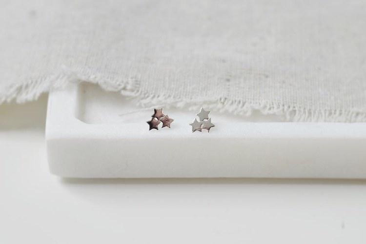Sparkle Star Earrings
