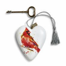 Art Heart Cardinal