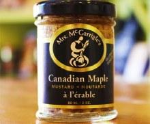 Canadian Maple Mustard