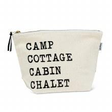 Camp Cottage Zipper Pouch