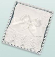Vintage Blanket White