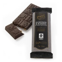 Almond & Raisins Choc Bar