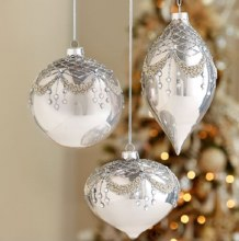 Beaded Gem Ornament