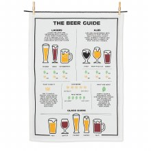 Beer Guide Tea Towel
