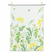 Herb Garden Tea Towel