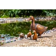 Bronze Duck Family