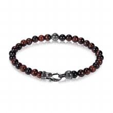Red Tiger Beaded Bracelet 8