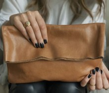 Bound Clutch Caramel