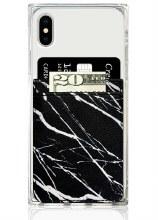 Black Marble Phone Pocket