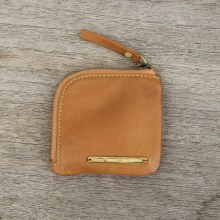 Rush Coin Case Caramel