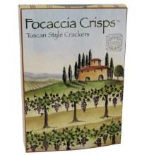 Focaccia Crisps Tuscan Style