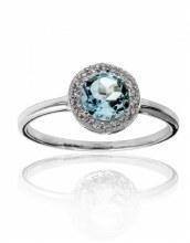 Classic Blue Topaz Ring