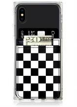 Checkered Phone Pocket
