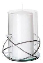 Chrome Candleholder Large
