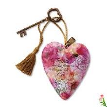 Art Heart Friends are Flowers