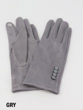 Touch Screen Glove Grey