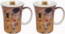Klimt The Kiss Set of 2