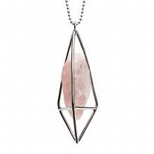 Lumia Necklace Rose Quartz