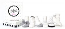 Ava Neutrals Baby Sock Single