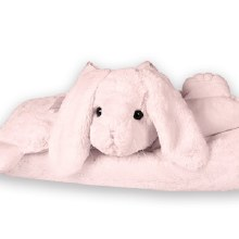 Bunny Belly Blanket (Pink)