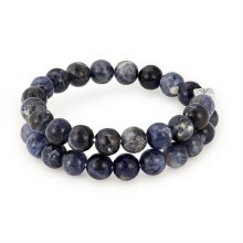 Beaded Gemstoen Wrap Sodalite