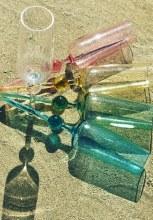 Beach Glass Champagne multi
