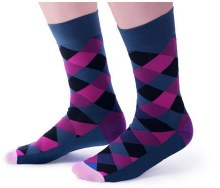 Blackcurrant Crew Socks