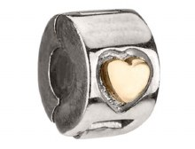 Gold Freedom Lock - Gold Heart