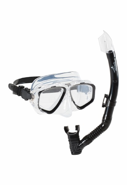 Recreation Mask/Snorkel Blac/B