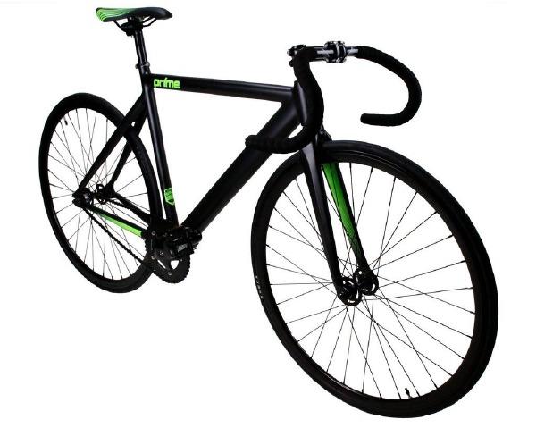 Fixie Prime Black Green 50cm