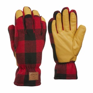 The Timber Mens Glove Red Buff