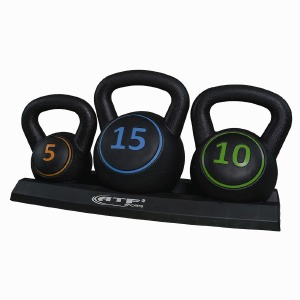 Set De Kettle Bell avec base