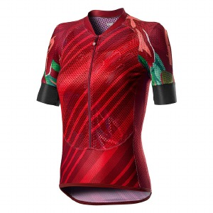 Climber'S W Jersey Red L