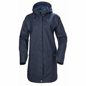 W Moss Rain Coat Navy XS