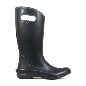 Rainboot Solid Noir 7