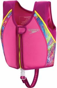 UV Printed Swim Vest Rose M