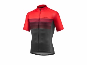 Rival SS Jersey Red Black M