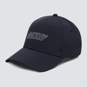6 Panel waved hat Blackout S/M